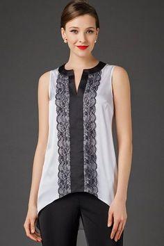 Neckline Designs, Dress Neck Designs, Designs For Dresses, Blouse Designs, Diy Fashion, Ideias Fashion, Fashion Dresses, Fashion Design, Sewing Blouses