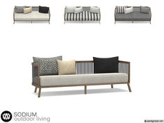- Sodium Outdoor Living - Sofa Found in TSR Category 'Sims 4 Sofas & Recliners' Living Room Accents, Living Room Sets, The Sims, Sims Cc, Sims 4 Cc Furniture Living Rooms, Muebles Sims 4 Cc, Sims 4 Clutter, Leather Sectional Sofas, Outdoor Couch