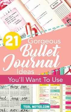How to start a bullet journal | Make your own BUJO and get organized with all the bullet journal tools you need to make it a success. My favorite is the habit tracker BUJO. You'll also learn about the best bullet journal notebooks!
