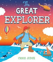 The Great Explorer by Chris Judge.  When a famous explorer goes missing in the North Pole, his son, Tom, decides he must find him. And so a daring adventure begins across the treacherous icy terrain of the North Pole. Will Tom be able overcome the many challenges ahead and find his father?