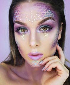 Easy Mermaid Halloween Makeup
