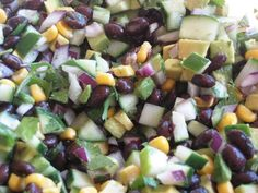 Side dish zuchini boats Weekly Goal Update and Cilantro, Black Bean, and Corn Salad Recipe — Beth's Journey