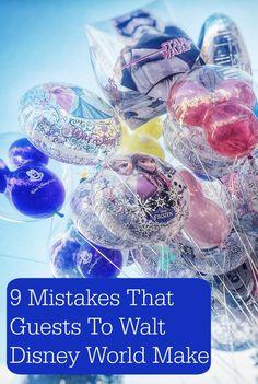 9 Walt Disney World Planning Mistakes