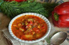 bardzo dobra zupa z pomidorów i papryki International Recipes, Chana Masala, Soup Recipes, Salsa, Ethnic Recipes, Food Ideas, Dinners, Blog, Polish
