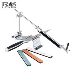 Cheap steel clevis, Buy Quality steel cello directly from China steel stick Suppliers: RUIXIN PRO III Knife Sharpener Professional All Iron Steel Kitchen Sharpening System Tools Fix-angle With 4 Stones Whetstone III Kitchen Knife Sharpening, Sharpening Tools, Sharpening Stone, Professional Kitchen Knives, Professional Chef, Professional Knife Sharpener, Best Pocket Knife, Pocket Knives, Iron Steel