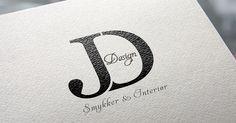 Logodesign made for JD Design Company Logo, Graphic Design, Logos, Logo, Visual Communication