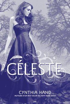 Céleste écrit pas cynthia hand. L'histoire d'une adolescente qui a du sang d'ange dans ses veines... Ce n'est pas mauvais! C'est de la bonne chick-lit. Je veux lire le deuxième tome.