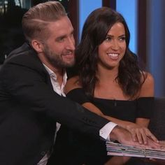 Buzzing: Jimmy Kimmel makes Kaitlyn Bristowe and Shawn Booth promise to never break up. :)