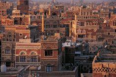 #UNESCO World Heritage Site: Old City of #Sana'a, #Yemen