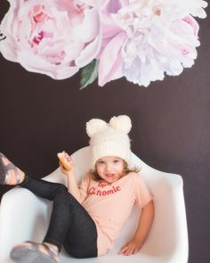 The Blueberry Hill Aiden Crown Pink and Gold