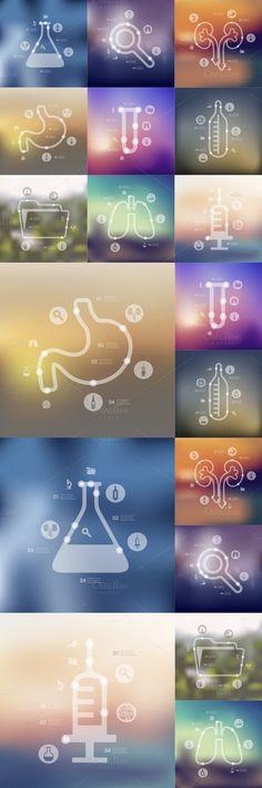 medicine timeline infographics. Medical Infographic. $5.00