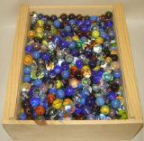 a collection of marbles