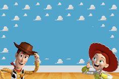 Toy Story 3 - Kit Completo com molduras para convites, rótulos para guloseimas, lembrancinhas e imagens!