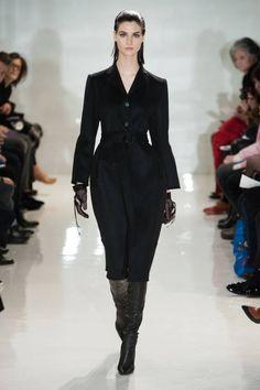 Ralph Rucci F/W 2014 Fashion Week Black Dress