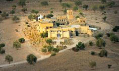 Mihir Gahr, Rajasthan, India, has been named the most extraordinary hotel in the world by guidebook publisher Lonely Planet