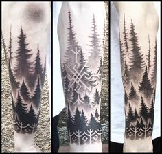 """115 Likes, 2 Comments - Peter Madsen (@blackhandnomad) on Instagram: """"In hindsight - one of the most hipster tattoos i have ever done, nonetheless i really enjoyed the…"""""""