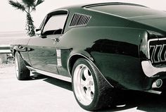 Mustang Fastback-67.  We all know Hillbank likes throwback.  Between our Superformance cars and modern Mustangs we are time traveling every day.