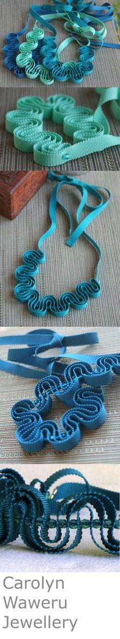 Beautiful shades of ocean blue to aqua