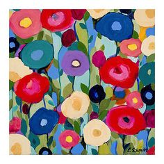 Carrie Schmitt solsticio de verano Flor Floral todavía amapolas Impresión Cartel 18x18 | Arte, Arte de anticuarios y revendedores, Grabados | eBay!