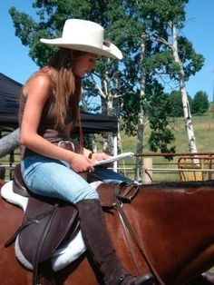 Amy/Amber season 1 reading her lines for the next scene… on Promise. Episode Breaking Free
