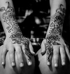 Wedding henna for Amina