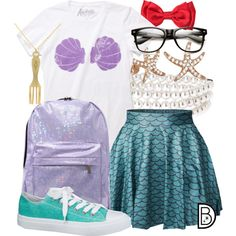 "I'm just bored and scanning the inter web, but looking up ""hipster disney princesses"" is hilarious. and awesome. Hipster Disney, Cute Disney, Disney Style, Ariel Disney, Disney Princesses, Estilo Disney, Disney Themed Outfits, Disney Dresses, Disney Bound Outfits Casual"