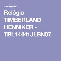 Relógio TIMBERLAND HENNIKER - TBL14441JLBN07