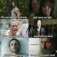 Walking Dead Gif, Random Things, Random Stuff, Daryl And Rick, Z Nation, Dead Ends, Carl Grimes, Zombies, Sherlock
