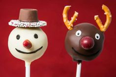 Christmas cake pops www.lovefuncakes.co.uk