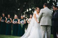 Lakeside wedding ceremony at Marina del Rey. Mission Inn Resort wedding venue near Orlando FL