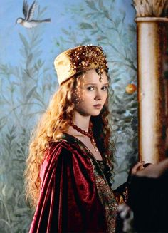 Isolda Dychauk in 'Borgia' (2011).