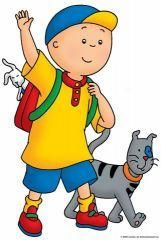 Cartoon Characters: Caillou