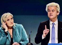 Far-right anti-Islam MP Geert Wilders' Freedom Party leads polls, leaving Dutch Prime Minister Mark Rutte's Liberal party in second place