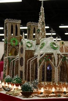Positively Organic: Gingerbread House - Notre Dame