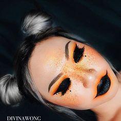 "486 Likes, 7 Comments - ☾ D I V I N A (@divinamuse) on Instagram: ""- pumpkin - Details: @suvabeauty cupcakes + monsters palette @katvondbeauty lipstick nayeon . .…"""