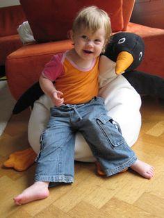 pinguin zitzak - patroon uit Knippie Baby winter 2002/2003