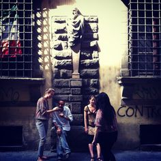 Street life in Florence