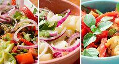Saladas de Verão - episódio e receitas de hoje no Manga com Pimenta www.mangacompimenta.com #receita #recipe  #receitas #recipes #gastronomia #culinária #cozinhar #food #foodblog #almoço #jantar #mangacompimenta #blogmangacompimenta #blogger #foodporn #comerbem #caserices #caserice #instafood #cooking #saudável #cozinhar #reeducaçãoalimentar #comidadeverdade #receitinhas #verão #vegetariano #youtube #salada #saladas #salad