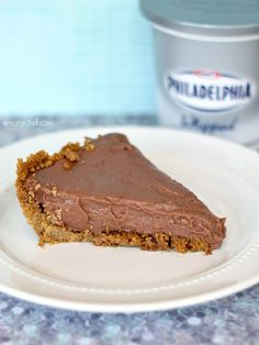No Bake Chocolate Cheesecake Pudding Pie #easy #dessert