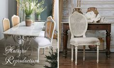 French Country Furniture - Vintage Furniture - Antique Reproduction Furniture - Cottage Haven Interiors