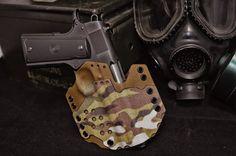 Custom Kydex owb holster multicam on Etsy, $125.00