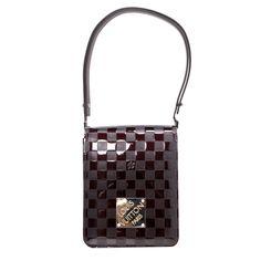 Louis Vuitton Amarante Damier Vernis Tall Cabaret Club Bag - modaselle