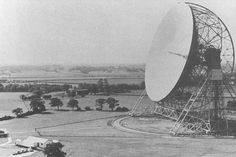 Early photo of the completed telescope shortly after becoming operational in 1957