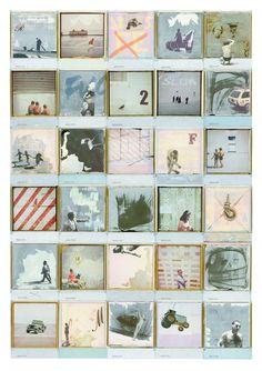 Martin O'Neill Collage Illustration Type