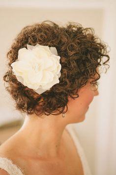naturally curly bridal