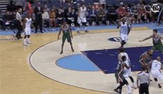 Gerald Henderson knocked out a fan. | The 89 Funniest Sports GIFs Of 2013