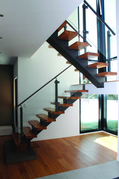escaliers et garde corps tendance stairs railings. Black Bedroom Furniture Sets. Home Design Ideas