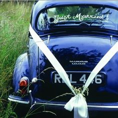 See A just married car! ;)