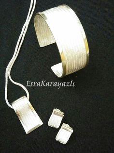 Sterling Silver Cuff Bracelet, Cufflinks, Bracelets, Gold, Handmade, Wire, Jewellery, Accessories, Quilling