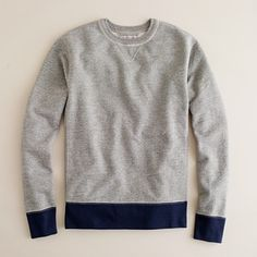 J. Crew Navy and Gray sweater